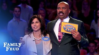 Contes crush Fast Money... AGAIN! | Family Feud