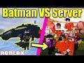 BATMAN vs ENTIRE Jailbreak Server! | Roblox Jailbreak