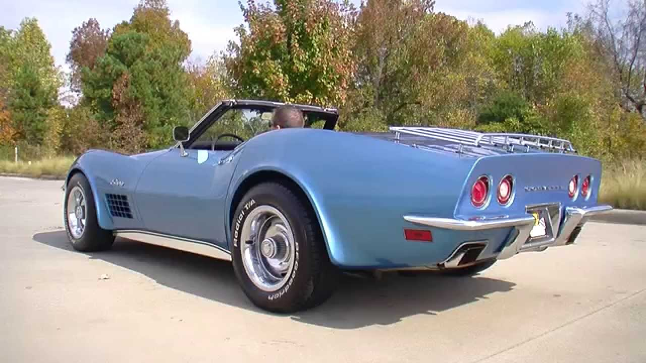 134931 1970 chevrolet corvette stingray youtube. Black Bedroom Furniture Sets. Home Design Ideas