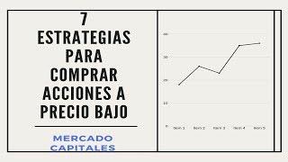 7 Estrategias para Comprar Acciones a precio bajo 💵 ➡💛COMO AHORRAR + INVERTIR