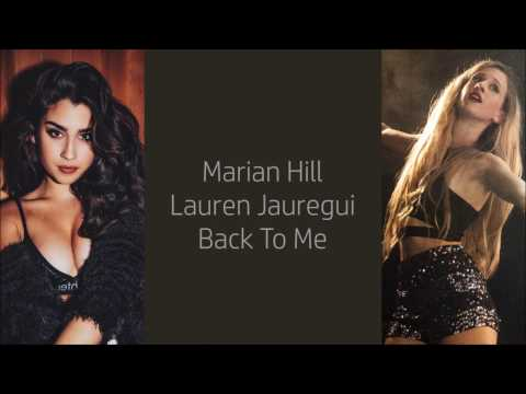 Marian Hill ft. Lauren Jauregui ~ Back To Me ~ Lyrics