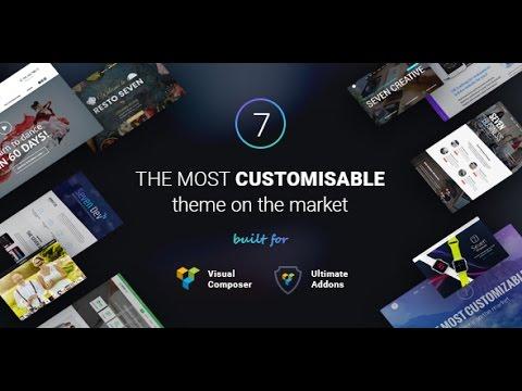 The7 - Responsive Multi Purpose WordPress Theme+Download - YouTube