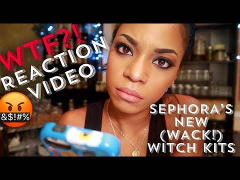 "????????????WITCH'S REACTION TO SEPHORA'S NEW ""WITCH KITS""- I.E. EPIC FAIL! ????????????"