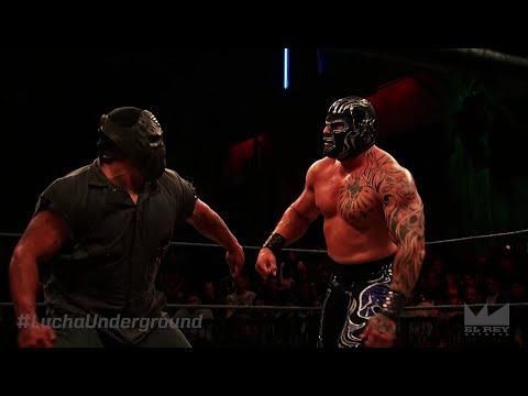 Lucha Underground 4/20/16: Matanza vs Mil Muertes - LUCHA UNDERGROUND CHAMPIONSHIP