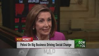 Nancy Pelosi on trade deals, health care, antitrust probes and more, with Mad Money's Jim Cramer