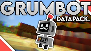 I Made GRUMBOT from HERMITCRAFT in Minecraft! | 1.15 Datapack