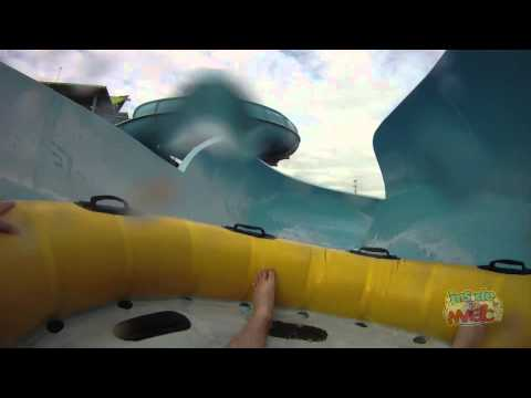 Walhalla Wave water slide POV at Aquatica SeaWorld Orlando