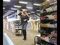 Shoe shopping is more fun as a girl