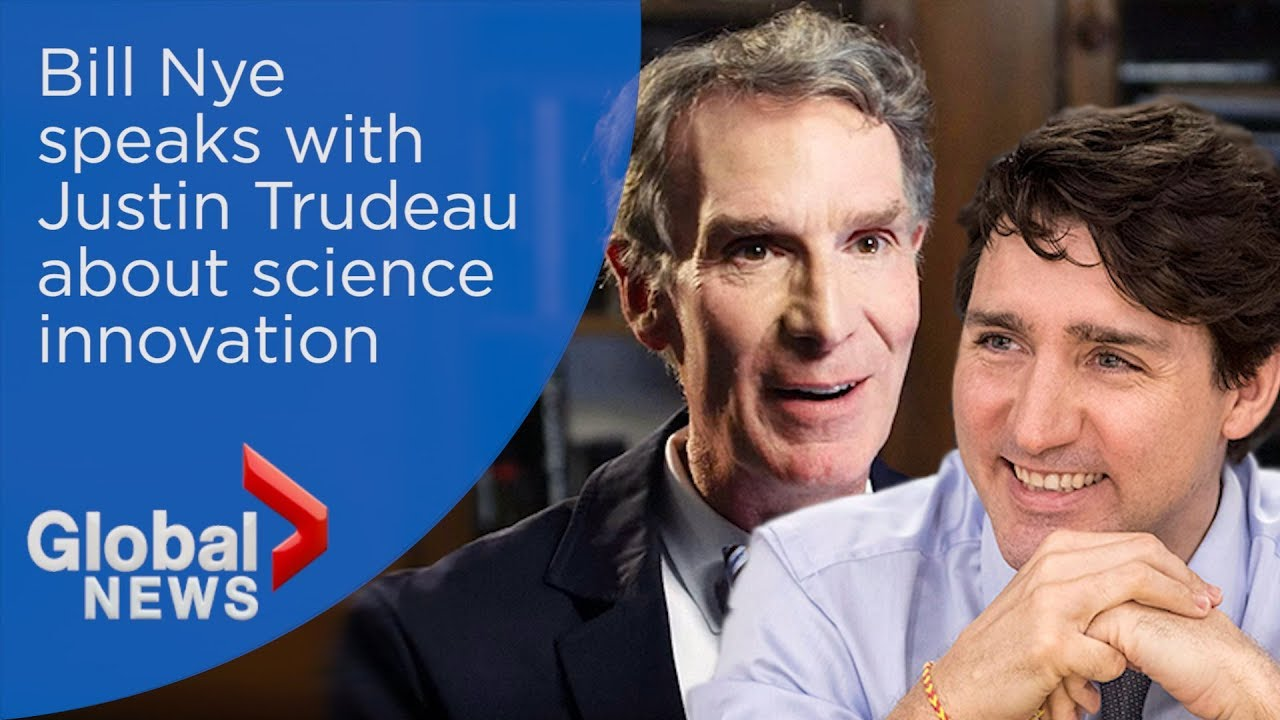 Bill Nye the Science Guy comes to Edmonton