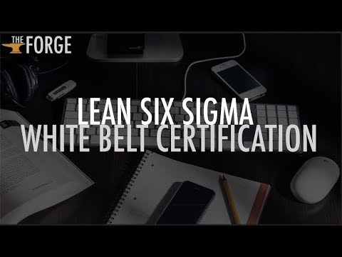 Free Lean Six Sigma White Belt Certification Online   The Forge