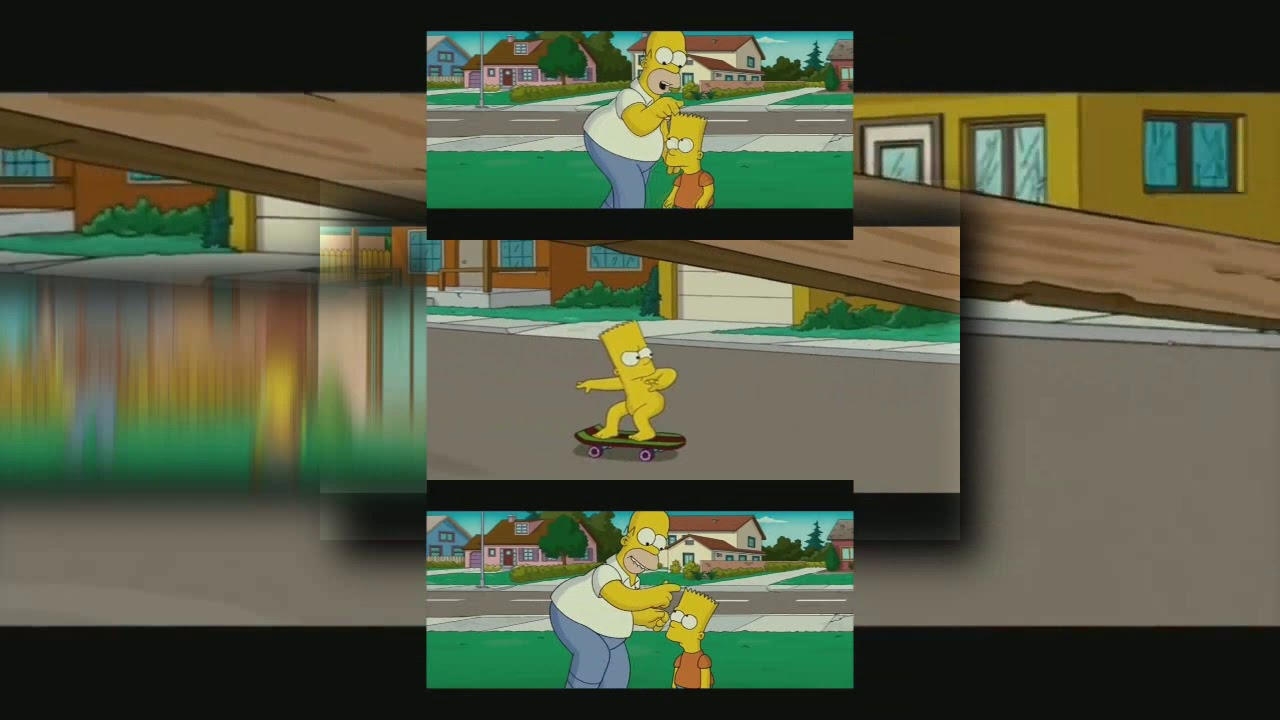 Requested Ytpmv The Simpsons Movie Bart Skating Naked Scan Youtube