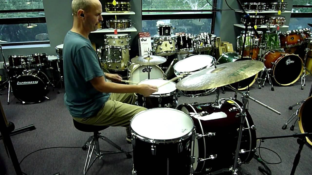 Ludwig Classic Maple Rock Drum Kit Youtube