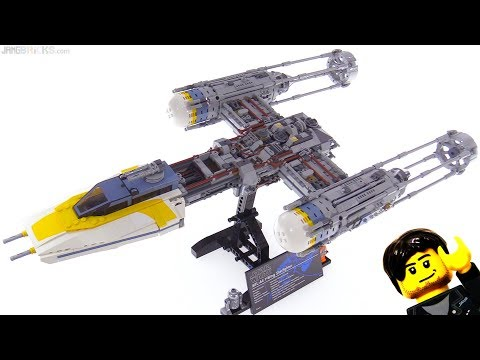 LEGO Star Wars UCS Y-Wing Starship set review! 75181