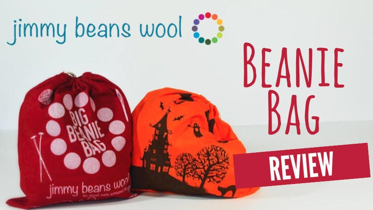 de3ddea5c91 Jimmy Beans Wool Monthly Big Beanie Bag Review 2018 - YouTube