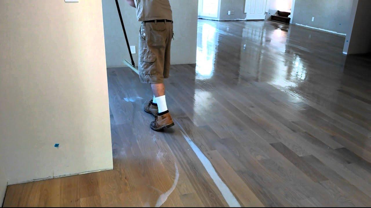 Bona Water Based Floor Finish Lication Лакировка Паркета США