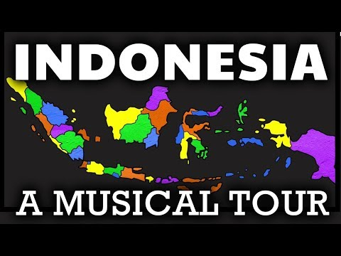 Indonesia Song For Kids | Indonesian Geography & Provinces