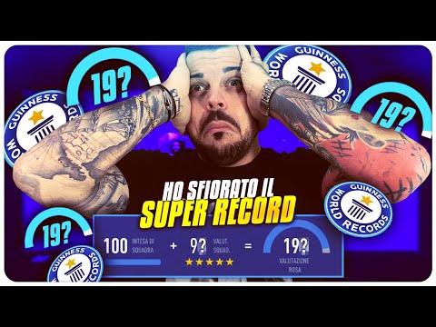 HO QUASI SFIORATO IL SUPER RECORD ! 192 DRAFT CHALLENGE ? FIFA 19
