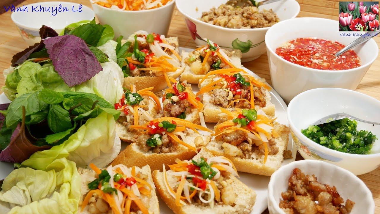 BÁNH MÌ HẤP – Cách làm Bánh mì hấp cuốn Rau chấm nước Mắm chua ngọt by Vanh Khuyen