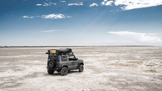Just Me & My Jimny, Finding Solitude Offroad in Botswana (Suzuki Jimny JB74 2019)