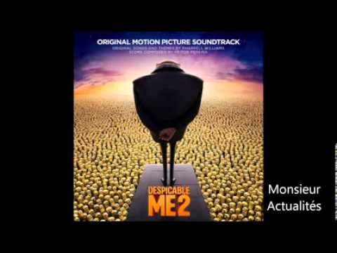 Free Download Despicable Me 2 Ost Soundtrack   03   Just A Cloud Away By Pharrell Williams Mp3 dan Mp4