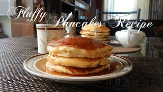 Fluffy Pancakes Recipe  The Sweetest Journey