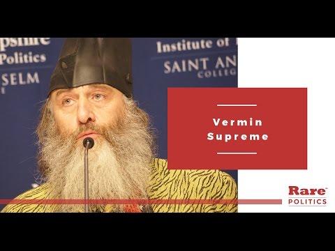 Vermin Supreme New Hampshire interview with Rare | Rare Politics