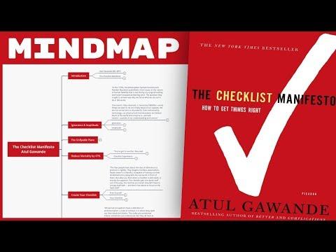the-checklist-manifesto---atul-gawande-(mind-map-book-summary)