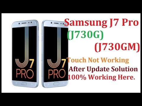 Fix Touch Not Work (liệt cảm ứng) by Root Samsung J7 Pro J730G
