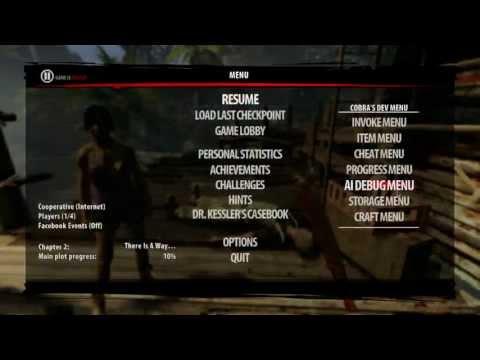 Dead Island Riptide Developer Menu Pc