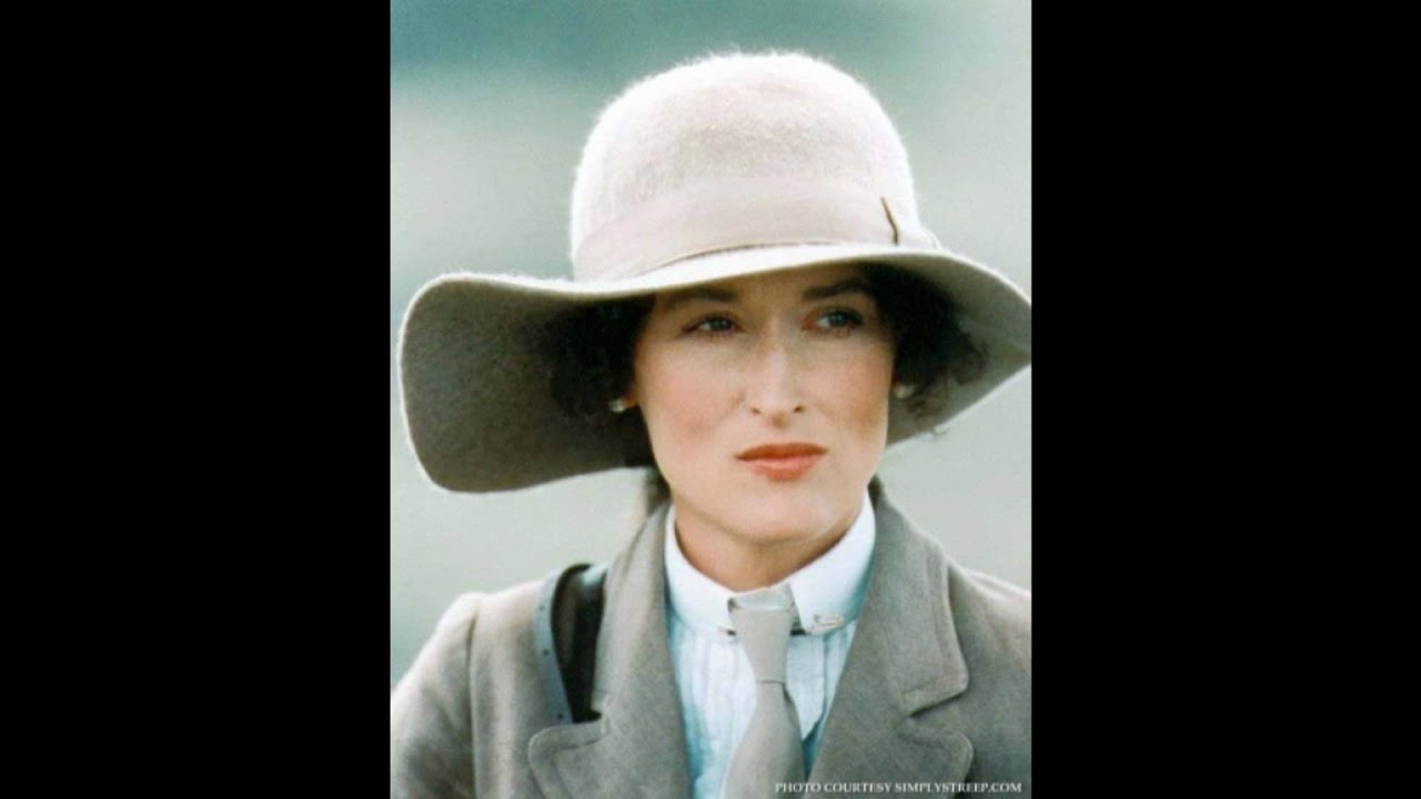 Meryl Streep Out Of Africa Theme By John Barry Youtube