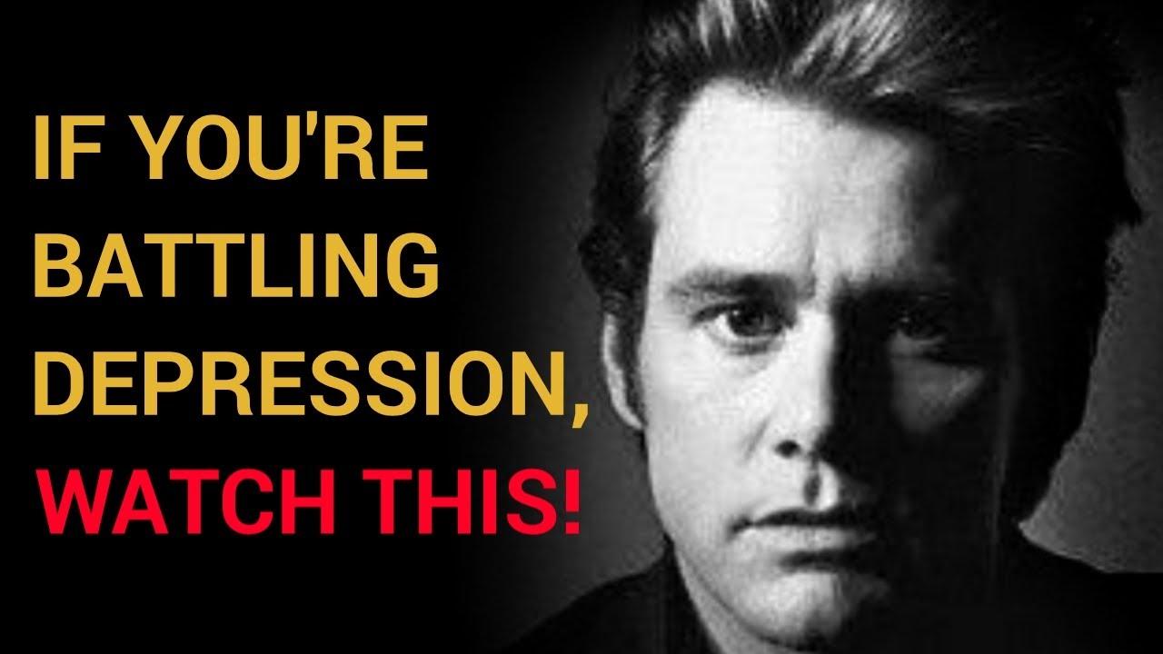 Jim Carrey Depression