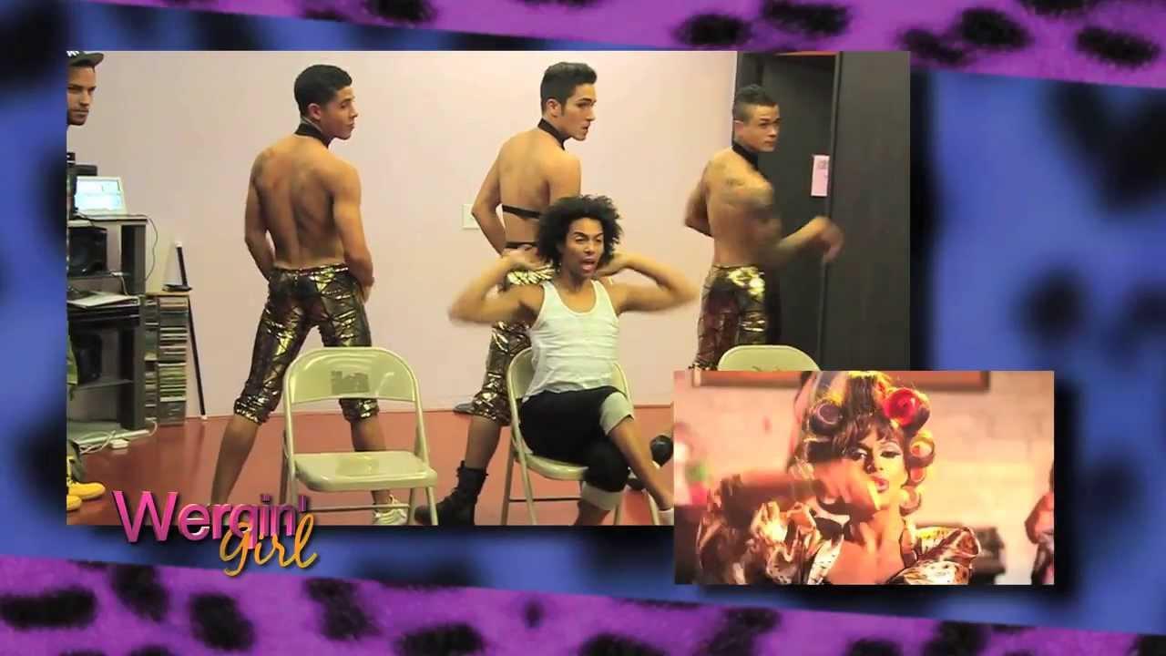 Download SNEAK PEEK: Behind the Scenes of WERQIN' GIRL music video!