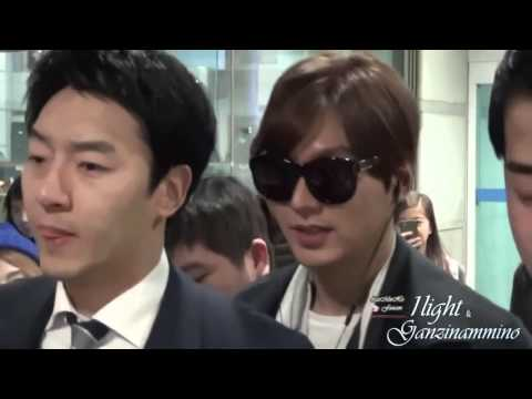 Lee min ho Suzy Airport,Lee min ho Suzy Perfect Couple