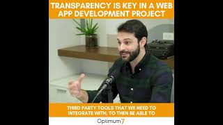 Transparency is Key in a Web App Development Project for E-Commerce, WordPress and Laravel PHP