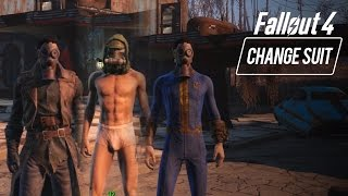 Fallout 4 - How to Change Outfits/Armor/Clothes In-Game (Switch Inventory)