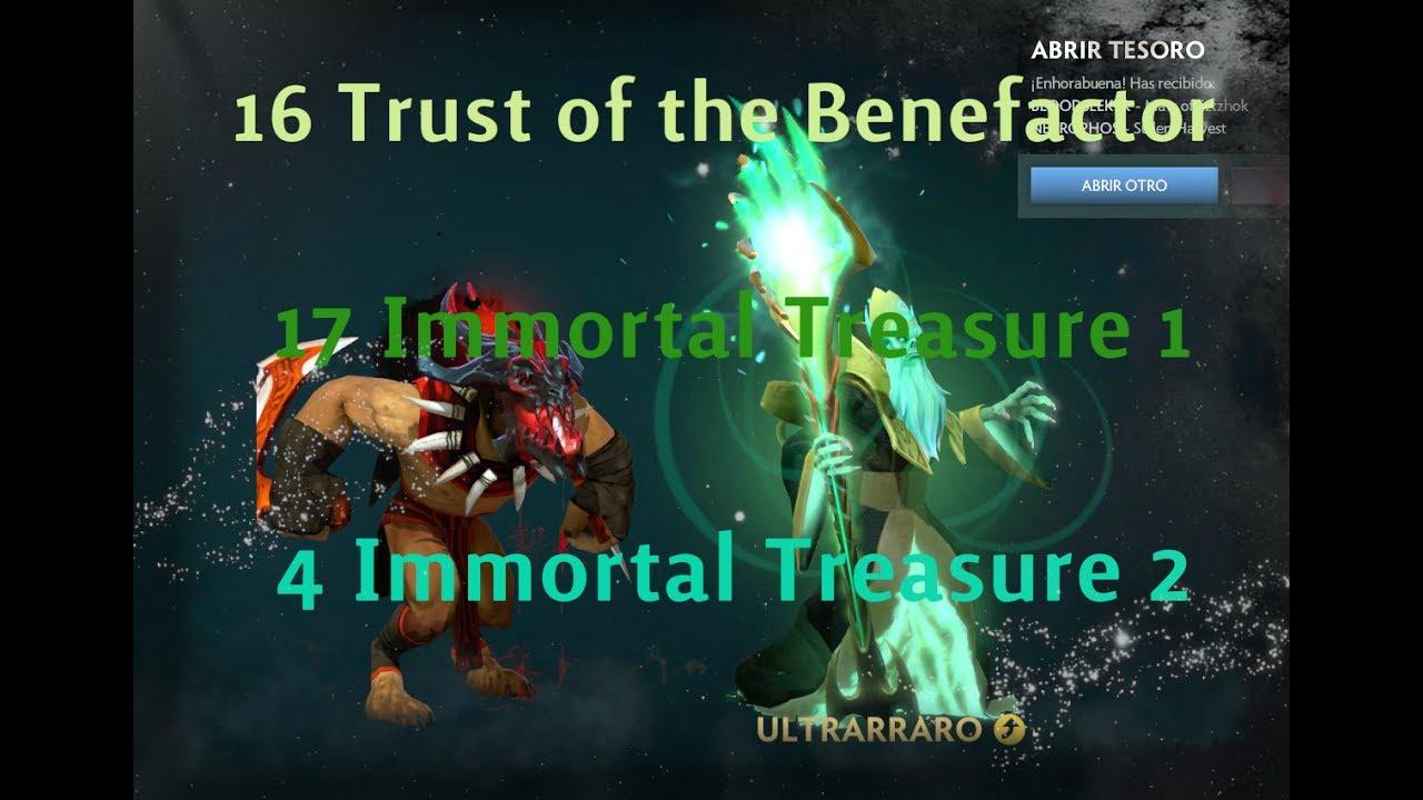 Immortal Treasure I: Trust Of The Benefactor (X16) + Immortal Treasure