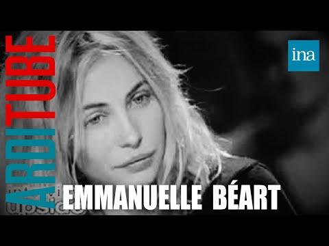 Upside down Emmanuelle Béart  Archive INA