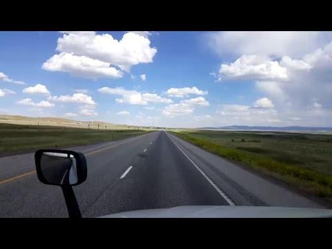 BigRigTravels LIVE! - Rock Springs to Elk Mountain, Wyoming- Interstate 80 East - June 21, 2017