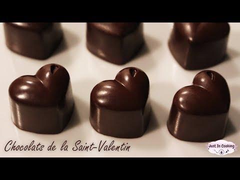 ♡ Recette de Chocolats maison pour la Saint-Valentin ♡