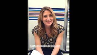 Gambar cover AUSXIP Exclusive interview with Sasha Alexander
