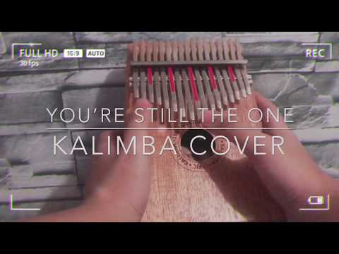 YOU'RE STILL THE ONE by Shaina Twain | KALIMBA COVER with numbered notation tabs