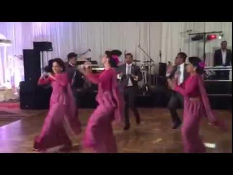 sachini wedding dance