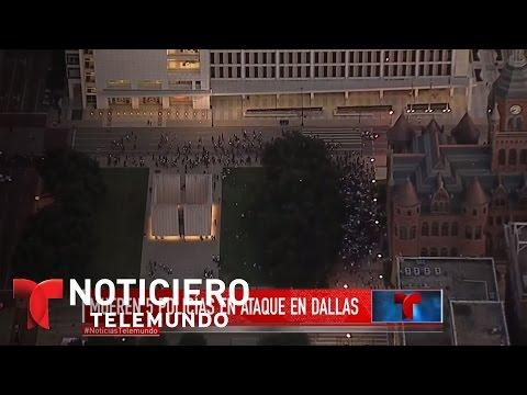 Tiroteo en Dallas pudo tener un contexto racial | Noticiero | Noticias Telemundo