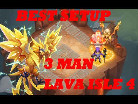 3 Man Lava 4 Castle Clash