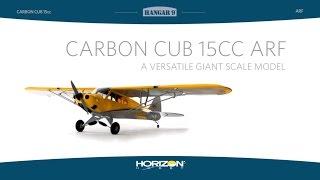 Load Video 1:  Hangar 9 Carbon Cub 15cc ARF