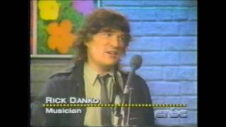 Rick Danko - RARE TV APEARANCE - 1991