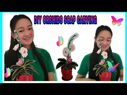 DIY ORCHIDS FLOWER