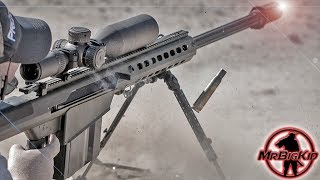 First time shooting the Barrett M107A1 .50 BMG !