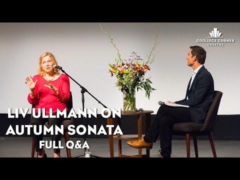 Playlist Q&A: Liv Ullmann on Autumn Sonata