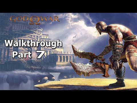 Let's Play God of War 1 - Walkthrough Part 7 ( Athens Town Square )
